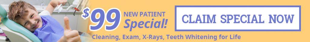 $99 new patient special