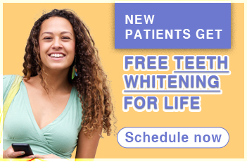 new patient special whitening for life