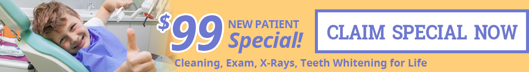 new patient special banner